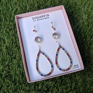 Sugarfix by BaubleBar Rhinestone Earring Set